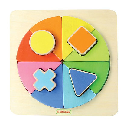 Shape and Color Matching Board (MasterkidzMK00569) 2yrs+