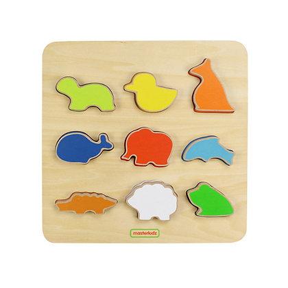 Animal Shape Sorting Board (Masterkidz MK00613) 2yrs+