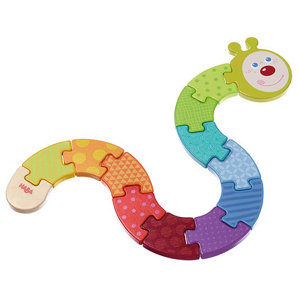 Arranging Game Rainbow Caterpillar (Haba 302578) 18m+