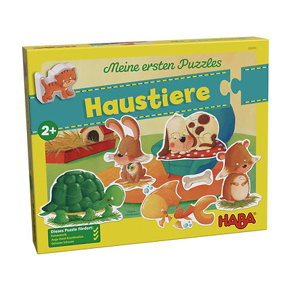 My Very First Puzzles - Animals (Haba 302410) 2yrs+