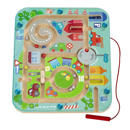 Magnetic Game Town Maze (Haba 301056)