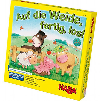 To the Meadow, Ready, Steady, Go! (Haba 4937) 3-10yrs