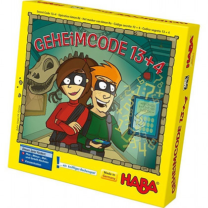 Secret Code 13+4 (Haba 5855) 8yrs+