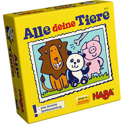 All Your Animals (Haba 4915) 3-6yrs