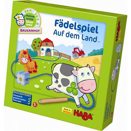 Threading Game on the Farm (Haba 5580)