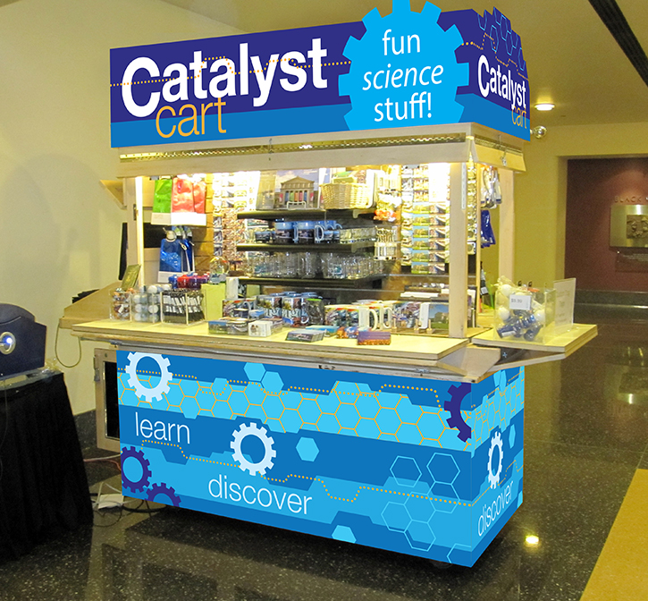 Catalyst Cart Open
