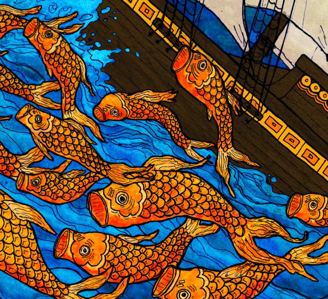 SS Tight Ship Illustration detail