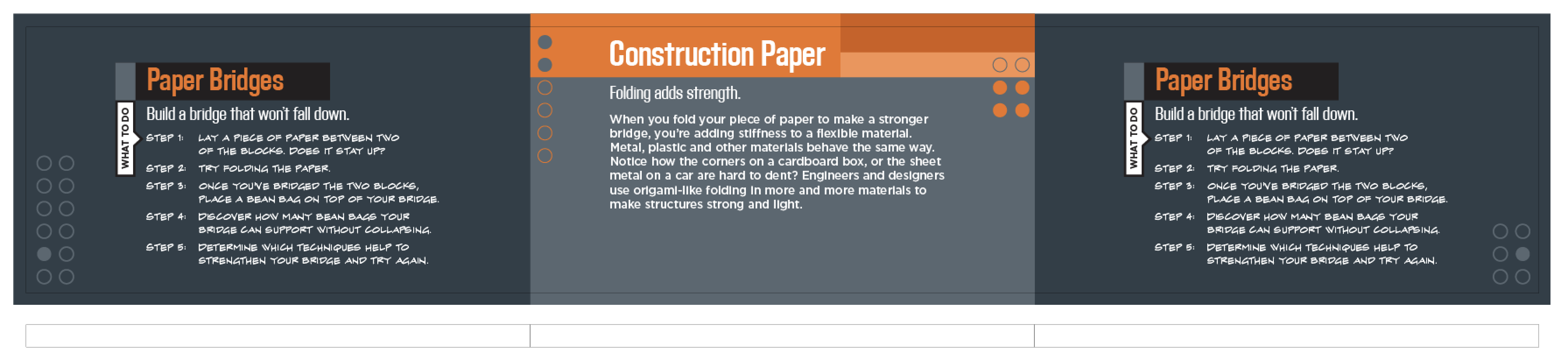 Paper Bridges Instructions