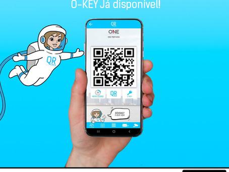 O-Key a chave virtual da ONE