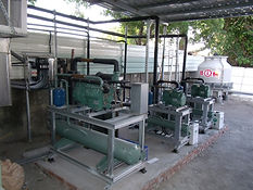 Water-cooled reciprocating compressors