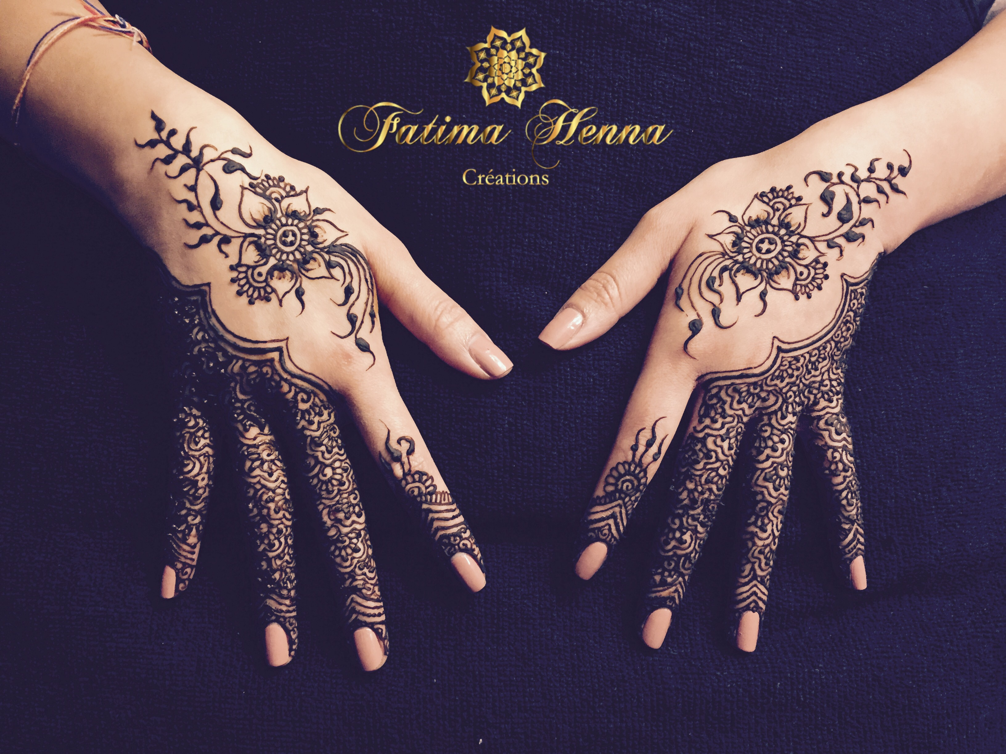 tatouage henne motif