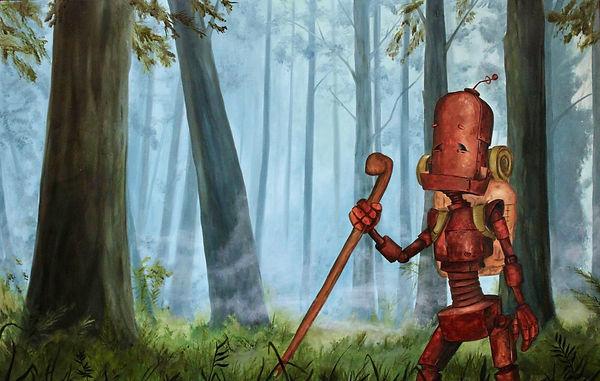 Robots-in-rowboats-wilderness-bot-lauren