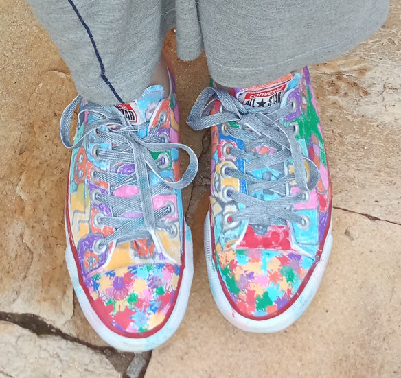 COLORFUL HALLOWEEN SHOES