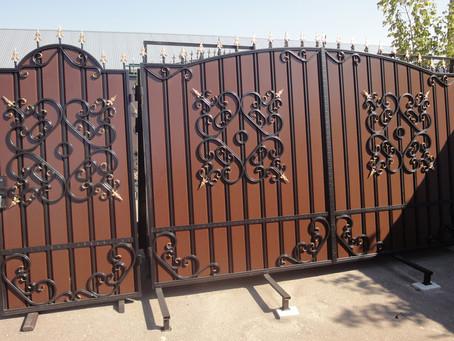 Кованые ворота, что нужно знать о них?
