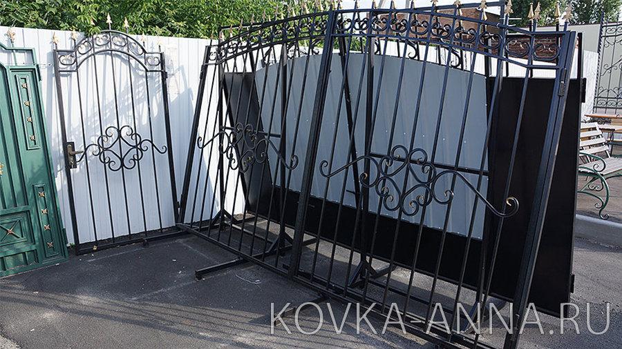 """Ворота и калитка """"Классика-арка"""" Без п/л"""