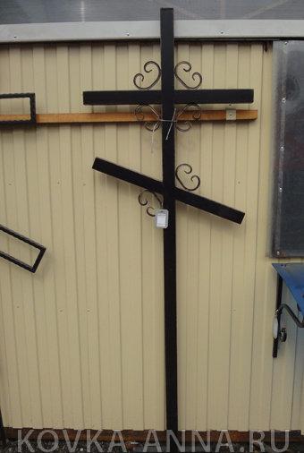 Крест с вензелями 60*40