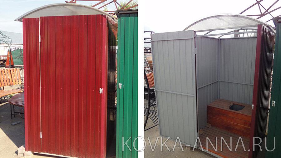 """Туалет-бокс уличный """"Люкс-п/к"""""""