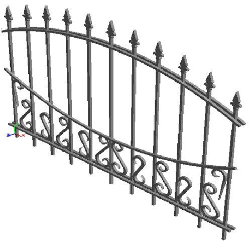 "Забор ""Бухарест-арка"""