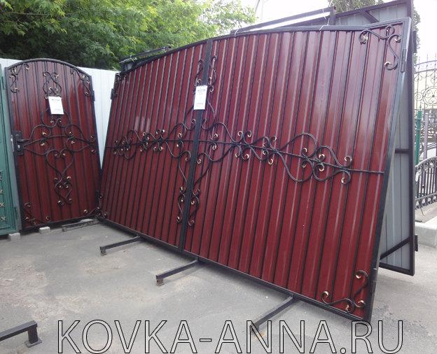 """Ворота и калитка """"Доступные"""""""