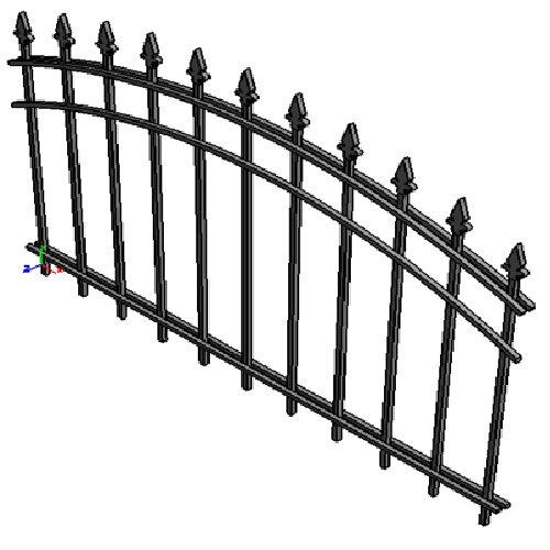 """Забор """"Нью-йорк-арка"""""""