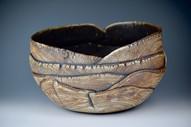 Large Kohiki serving bowl