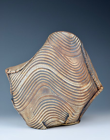 Free formed Kohiki vase