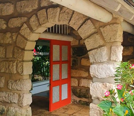 The doors you see lead to our beautiful garden, but you can always relax here!