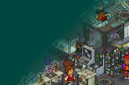 This Habboween: Infected Laboratory
