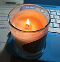 Tunelling Candle