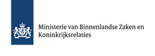 Ministerie van Binnenlandse Zaken en Koninkrijksrelaties logo