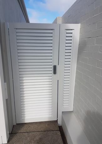 Classic Aluminium - White tall
