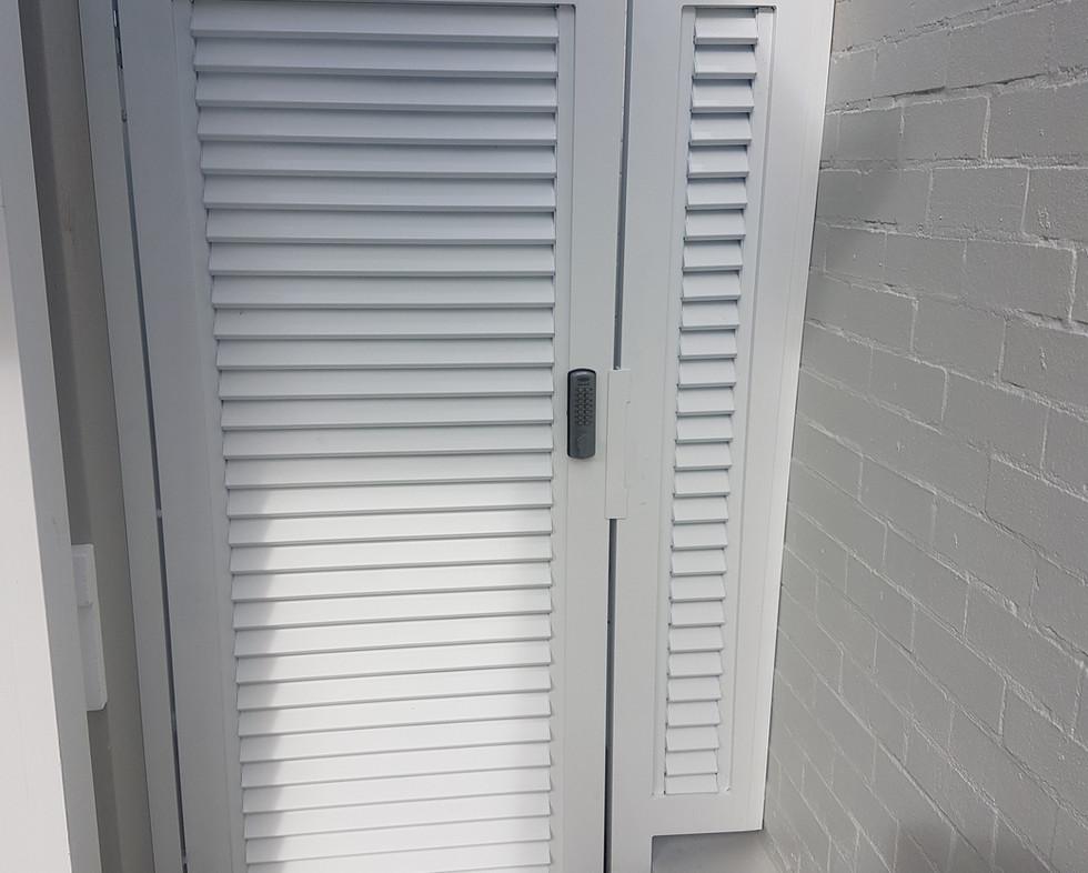 Side Door - White