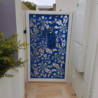 Classic Aluminium Perth - Custom Made Aluminium Lazer Cut Decorative Gate