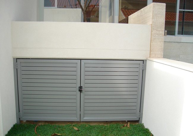 Classic Aluminium - Grey - Closed