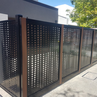 Classic Aluminium Perth - Custom Made Lazer Cut Fence & GAte