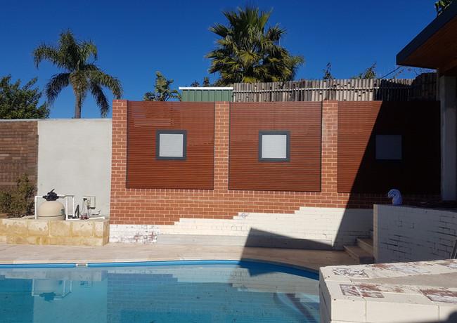 Classic Aluminium -  Next to pool