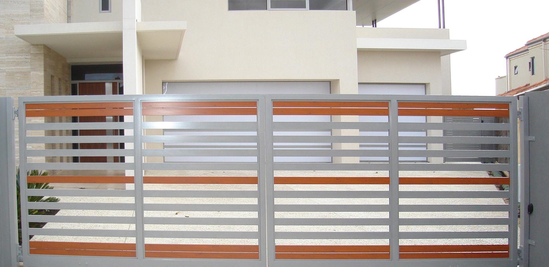 Slat Gate - Timber