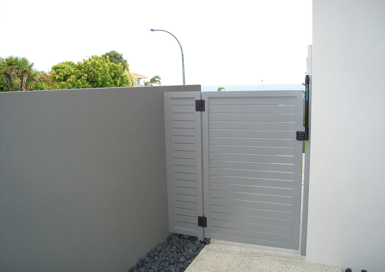 Classic Aluminium - Grey side gate