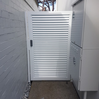 Classic Aluminium Perth - Custom Made Aluminium White Side Gate