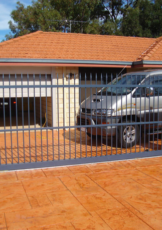 Classic Aluminium - Navy Fence