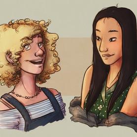 Lydia & Eden