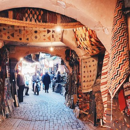 Marrakesh, the gorgeous scam city.