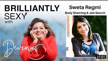 Sweta Regmi talks about career, body shaming, and job search, self-esteem.