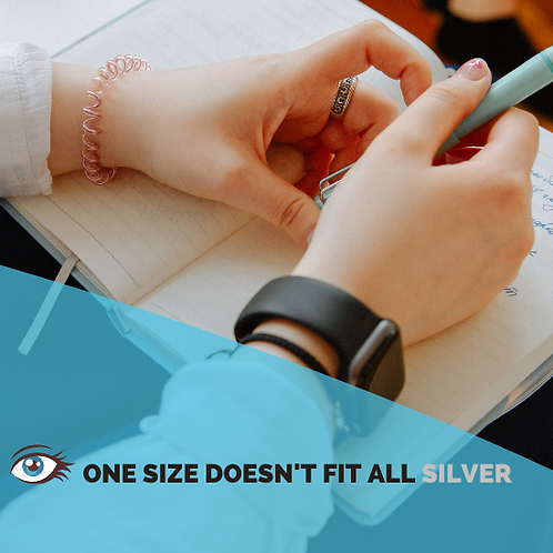 One Size Doesn't Fit All (Silver) | Resume, LinkedIn, Interview, Coaching