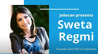 Sweta Regmi, Founder & CEO, Career Coach, Consulant from Canada named as Top 25 Job Search, Career Expert in LinkedIn. She is number 10 on the list by Jobscan.