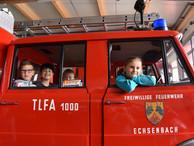 Besuch bei der Freiwilligen Feuerwehr Echsenbach