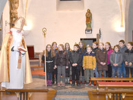 Nikolausfeier in der Pfarrkirche