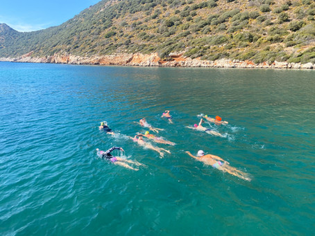 WSJ Travel Section-The Joy of Open-Water Swimming in Turkey During Lockdown