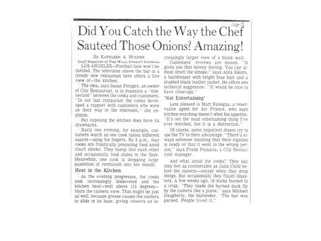 Did You Catch the Way the Chef Sauteed Those Onions? Amazing!