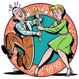 He Wants to Retire....but She Doesn't, WSJ Encore